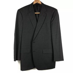 Brooks Brothers Brooksease Two-Button Wool Blazer